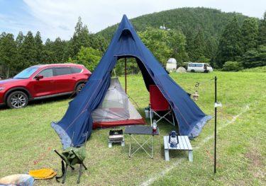ウッディパル余呉/ゲレンデを使用した開放的なキャンプ場