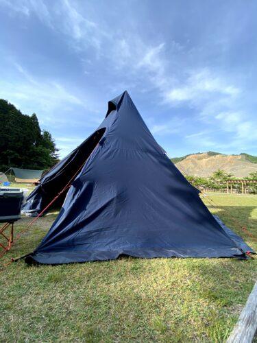 滋賀県のキャンプ場【青土ダムエコーバレイキャンプ場】キャンプレポ